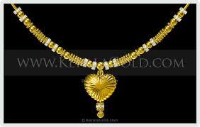 kerala gold jewellery design necklace 4