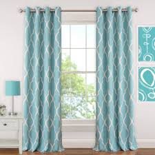 Geometric Pattern Curtains Geometric Curtains Drapes Window Treatments The Home Depot