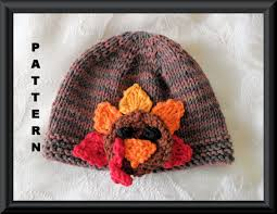 baby thanksgiving hat knitted hat pattern baby hat pattern instant hat