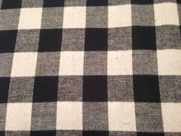 black white buffalo plaid cotton flannel fabric at lura s fabric