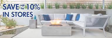 outdoor furniture fire tables the great escape