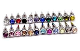 titanium stud earrings kitten titanium stud earring style stainless steel