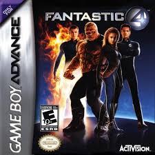 fantastic 4 usa rom u003e gameboy advance gba loveroms