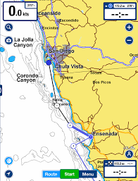 Map Of Baja California Cruising Tips Traveling South On The Pacific Side Of Baja