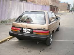 toyota tercel 1987 toyota tercel information and photos momentcar
