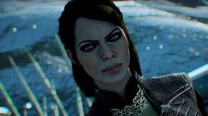 dragon age inqusition black hair short pulled back hair with a bun at dragon age inquisition nexus