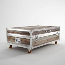 Trunk Coffee Table Rustic Chest Coffee Table Foter