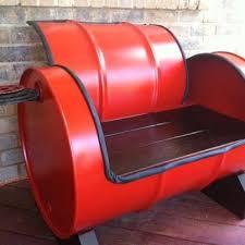 166 best steel drum furniture images on pinterest barrels oil