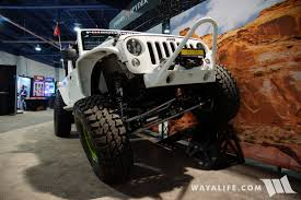 spyder jeep 2017 sema poison spyder jeep jk wrangler unlimited