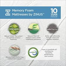 Sofa Bed Mattress Replacement by Sleep Master Cool Gel Memory Foam 5 Inch Sleeper Sofa Mattress