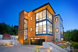 Contemporary Home Exterior by Best 40 Seattle Modern Homes Design Ideas Of Seattle Modern Homes