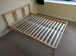 en ikea twin bed wood slats queen home depot slat frame