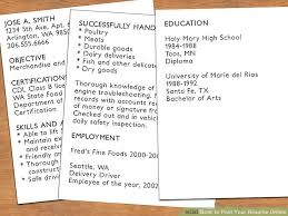 Filling Out A Resume Online how to post your resume online 13 steps with pictures wikihow