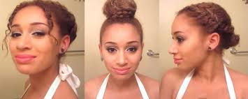 heatless hairstyles 3 heatless hairstyles for prom naturallycurly com
