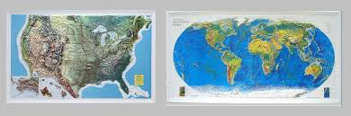 us relief map map sales and service