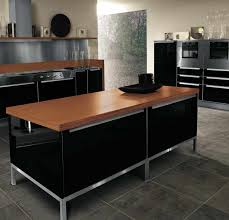 Stainless Steel Kitchen Backsplash by Glittering Island Kitchen Table With Storage Also Black High Gloss