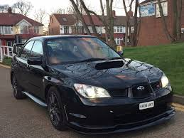 subaru black wrx subaru impreza 2 5 wrx sti spec d hawk eye 2 5 black in southall