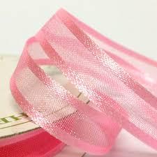 organza ribbon 10mm satin edge organza ribbon pink delight paper craft scrapbook