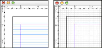 use grids in adobe indesign