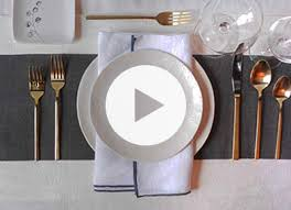 how do you set a table properly how to set the table properly purewow