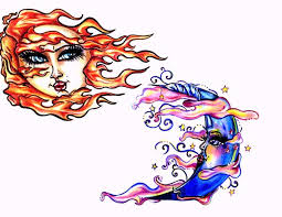 sun and moon tattoo designs by mexican gypsy on deviantart