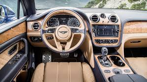 new bentley interior bentley bentayga diesel 2017 review by car magazine