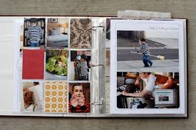 8 5 x11 photo album ali edwards design inc week in the album creation part