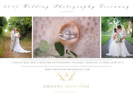 2017 wedding photography giveaway amanda mcmahon photography
