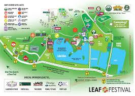 Festival Map Culinary Arts Vendors Leaf