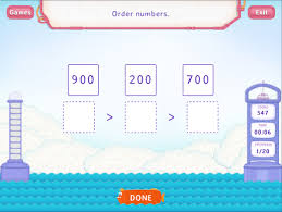 order numbers upto 1000 worksheets second grade math