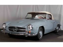 1960 mercedes for sale 1960 mercedes 190sl for sale on classiccars com 8 available