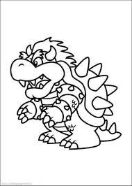 all mario characters coloring pages free printable mario
