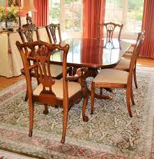 ardley hall duncan phyfe style dining table and eight chairs ebth ardley hall duncan phyfe style dining table and eight chairs