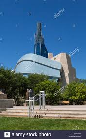the canadian museum for human rights at the forks in winnipeg
