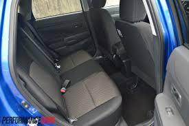 mitsubishi asx 2014 interior 2015 mitsubishi asx ls 2wd rear seats