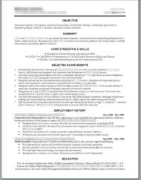 Sample Objectives In Resume For Undergraduate by Mechanical Design Engineer Resume Objective Free Resume Example