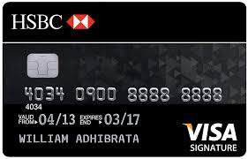 persyaratan buat kartu kredit hsbc hsbc visa signature card duitpintar com