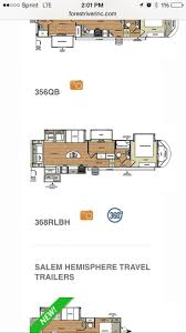 denali 5th wheel floor plans 22 best travel trailer fever images on pinterest fifth wheel