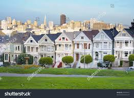 Victorian House San Francisco by Alamo Square San Francisco Seven Sister Stock Photo 67094023