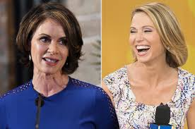 amy robach hairstyle amy robach the frontrunner to replace elizabeth vargas on 20 20