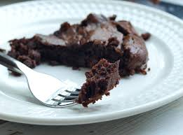 chocolate fudge banana skillet cake vegan and paleo happy