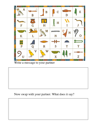 y3 ancient egypt topic hieroglyphics by nikkiw 267 teaching
