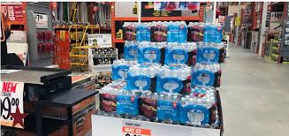 Rubbermaid The Home Depot Deals Of The Day 24 Pack 1 98 0 08 Each Bottled Water