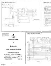 atari centipede sch service manual download schematics eeprom