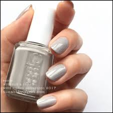 essie without a stitch from the wild collection 2017