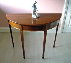half moon table target half round console table half moon sofa table wonderful classic