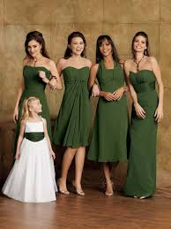 moss green bridesmaid dresses each bridesmaid should their own unique dress that flatters
