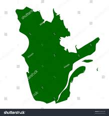 Blank Map Of Canada Provinces And Territories by Map Quebec Province Territory Canada Isolated Stock Illustration