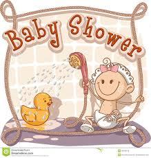 babyparty karikatur einladung vektor abbildung bild 32415643