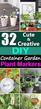 Diy Container Garden 32 Cute Diy Plant Marker Ideas For Container Gardeners Balcony